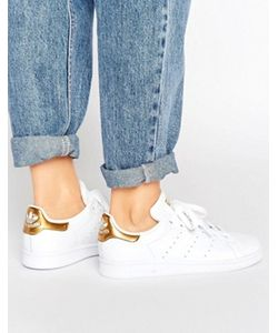 Adidas | Золотисто Кроссовки Originals Stan Smith