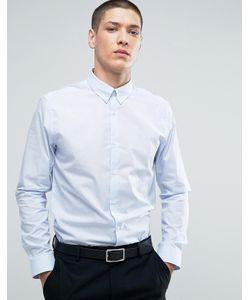 Burton Menswear | Slim Smart Shirt In Stripe