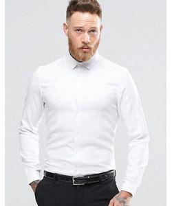 Asos | Рубашка Классического Кроя Из Фактурной Саржи