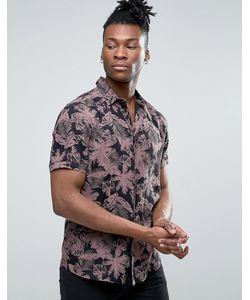 Asos | Рубашка Классического Кроя Из Вискозы С Цветочным Принтом