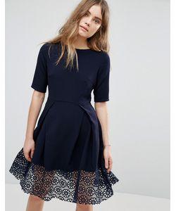 Traffic People | Платье С Кружевной Отделкой Hepburn