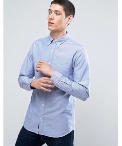 Jack & Jones | Узкая Оксфордская Рубашка В Полоску Premium