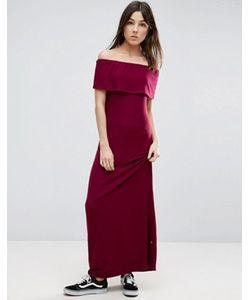 NYTT | Платье Макси С Открытыми Плечами