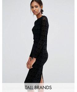 Vero Moda Tall | Кружевное Платье С Длинными Рукавами
