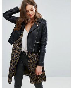 Vero Moda | Кожаная Байкерская Куртка