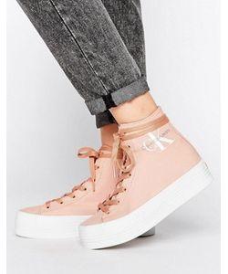 Calvin Klein | Высокие Кроссовки Из Парусины Jeans Zabrina