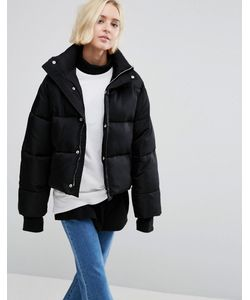 STYLE NANDA   Свободное Утепленное Пальто Stylenanda