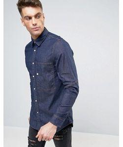 G-Star | Узкая Джинсовая Рубашка С Длинными Рукавами Stalt