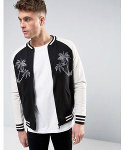 Brooklyn Supply Co. | Куртка-Пилот С Вышитыми Пальмами Brooklyn Supply Co