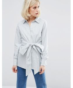 LOST INK | Стираная Полосатая Рубашка
