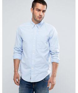 Abercrombie and Fitch | Облегающая Оксфордская Рубашка В Полоску С Карманом