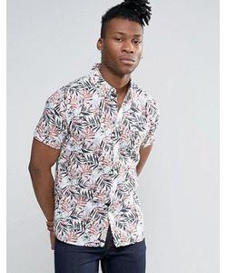 Pepe Jeans | Рубашка С Короткими Рукавами И Тропическим Принтом