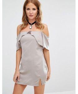 Millie Mackintosh | Платье-Комбинация С Вырезами На Плечах