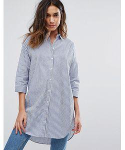 JDY | Рубашка В Полоску С Длинным Рукавом Long