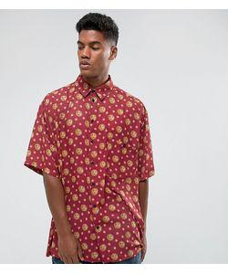 Reclaimed Vintage | Оверсайз-Рубашка С Принтом Солнца Inspired