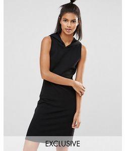 Nocozo | Короткое Платье С Капюшоном