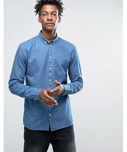 Minimum | Зауженная Джинсовая Рубашка На Пуговицах Barden