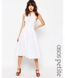 ASOS PETITE | Платье Миди С Высокой Горловиной В Стиле 90Х