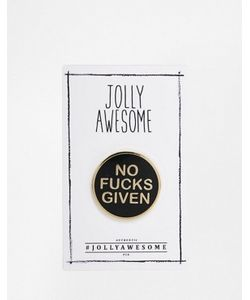 Jolly Awesome | Эмалированный Значок Attitude