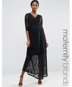 Mama Licious | Кружевное Платье Макси Для Беременных Mamalicious Maternity