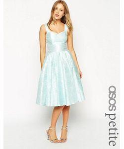 ASOS PETITE | Жаккардовое Платье Для Выпускного С Цветочным Узором Salon