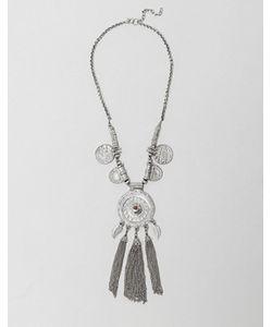 Raga | Ожерелье С Монетами И Бирюзовыми Камнями