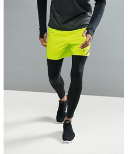 Nike Running | Желтые Шорты Aeroswift 5 717881-702