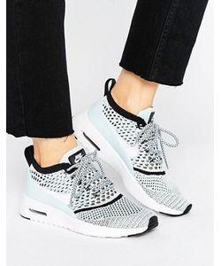 Nike | Голубые Кроссовки С Вязаной Отделкой Air Max Thea Ultra