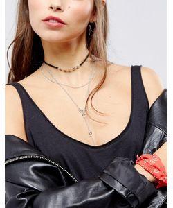 Asos | Ожерелье-Чокер В Восточном Стиле С Шариковой Цепочкой
