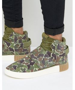 adidas Originals | Зеленые Кроссовки Tubular Invader Str Bb8393
