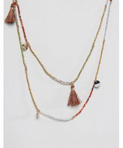 NYLON | Ярусное Ожерелье С Кисточками