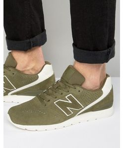 New Balance   Зеленые Кроссовки В Стиле 70-Х Running 420 Mrl996dz