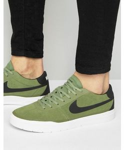 Nike SB | Зеленые Кроссовки Bruin Hyperfeel 831756-300