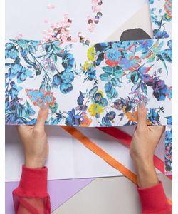 OHH DEER | Упаковочная Бумага С Цветочным Принтом 2 Листа