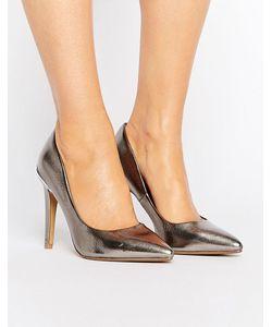 Head Over Heels | Туфли-Лодочки С Острым Носком И Эффектом Металлик By
