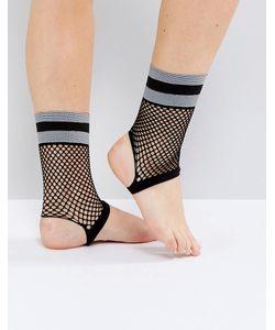 Asos   Носки Из Сеточки Со Штрипками