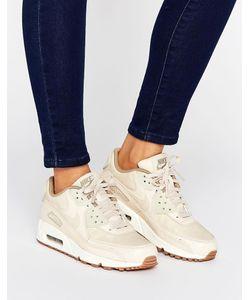 Nike | Кроссовки Овсяного Цвета Air Max 90 Premium