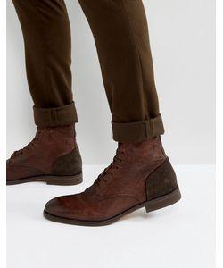 Hudson London | Кожаные Ботинки На Шнуровке Yoakley