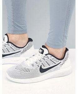 Nike Running | Белые Кроссовки Lunar Glide 8 843725-100