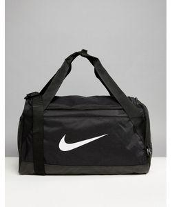 Nike | Черная Большая Спортивная Сумка С Логотипом-Галочкой