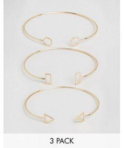 Cara Jewellery | Набор Из 3 Браслетов Cara Ny