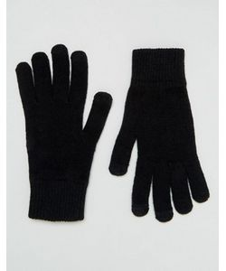 Asos | Черные Перчатки Для Сенсорных Гаджетов