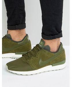 Nike | Зеленые Кроссовки Air Berwuda Premium 844978-300