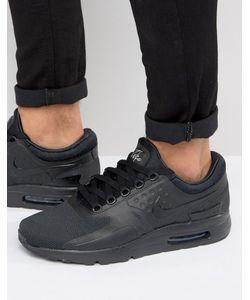 Nike | Черные Кроссовки Air Max Zero