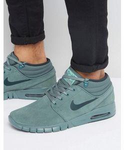Nike SB | Зеленые Кроссовки Stefan Janoski Max 807509-333