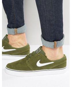 Nike SB | Зеленые Кроссовки Zoom Stefan Janoski 333824-310