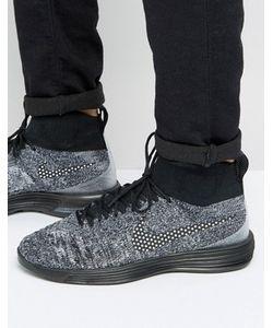 Nike | Черные Кроссовки Fc Lunar Magista 876385-001