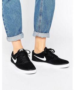 Nike | Черные Кроссовки Sb Check Solar