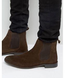 Asos | Замшевые Ботинки Chelsea Коричневый