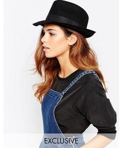 Catarzi | Классическая Фетровая Шляпа Черный